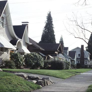 photo of neighborhood street