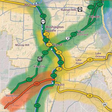 thumbnail of High Capacity Transit Plan map