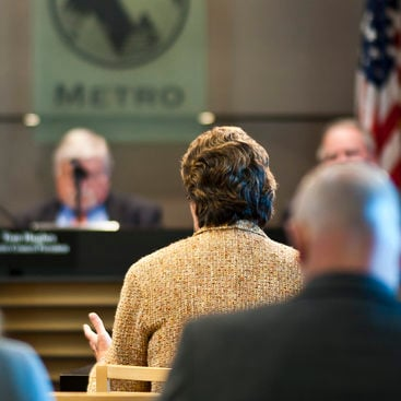 photo of Metro Council meeting