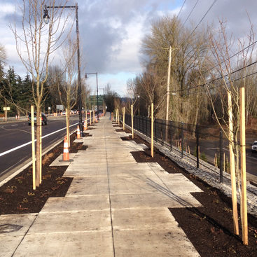 Oregon City McLoughlin Blvd Enhancement Plan, Phase 2
