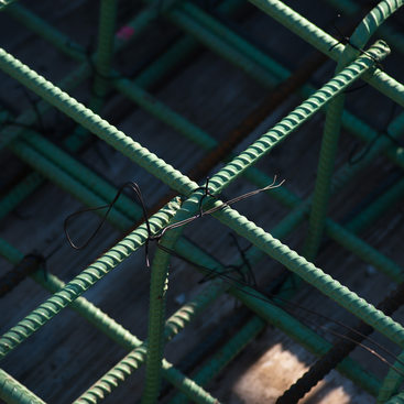 Green rebar linked up