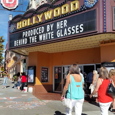 Marquee of Hollywood Theatre