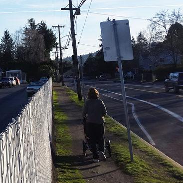 Walking Flavel Street