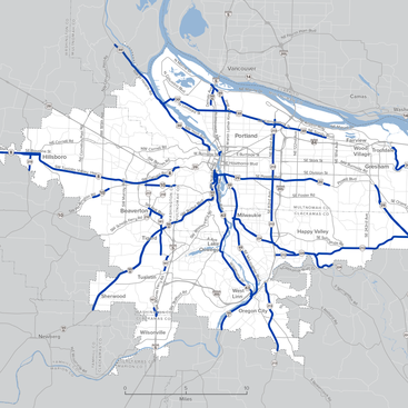 map of routes to consider for jurisdictional transfer