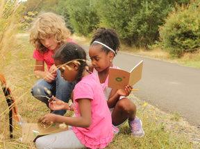 Photo of children at Graham Oaks Nature Park