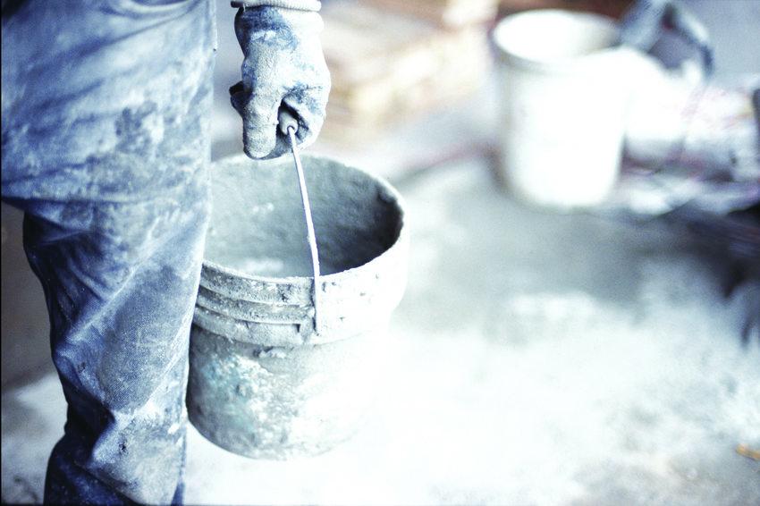 photo of concrete construction