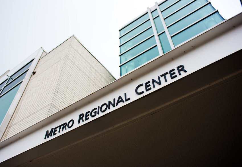 photo of Metro Regional Center entrance