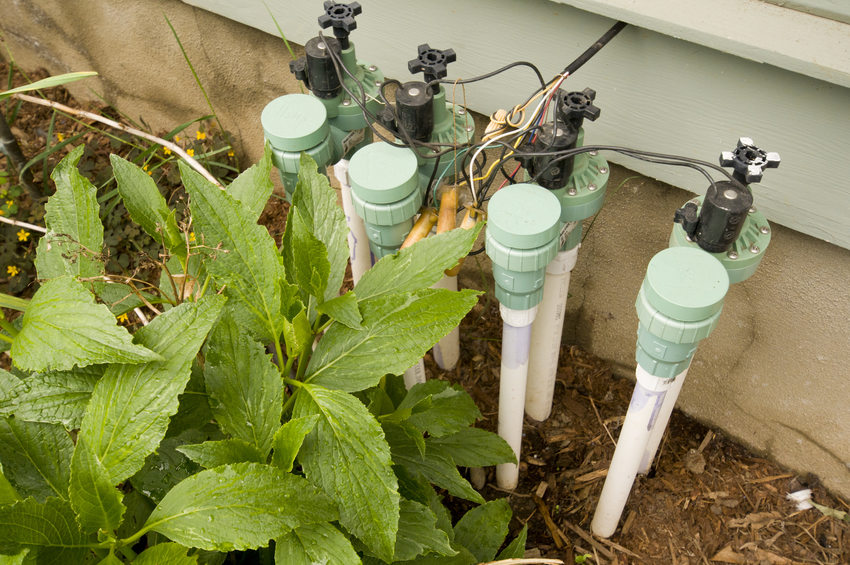 photo of an irrigation system