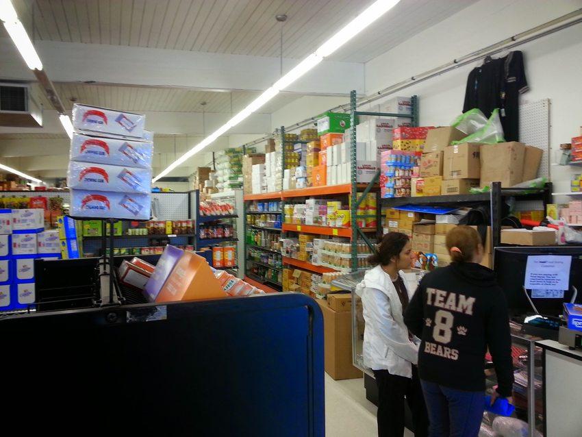 Mingala International Market interior