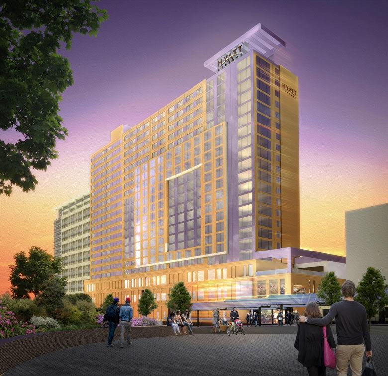 Hyatt rendering