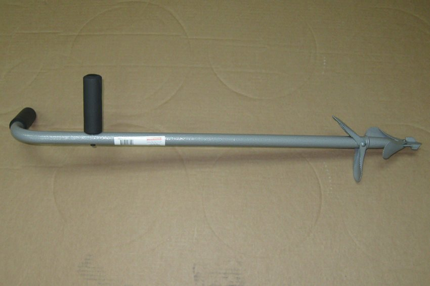 photo of the compost aerator