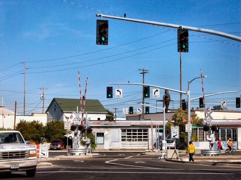 Green lights in Portland