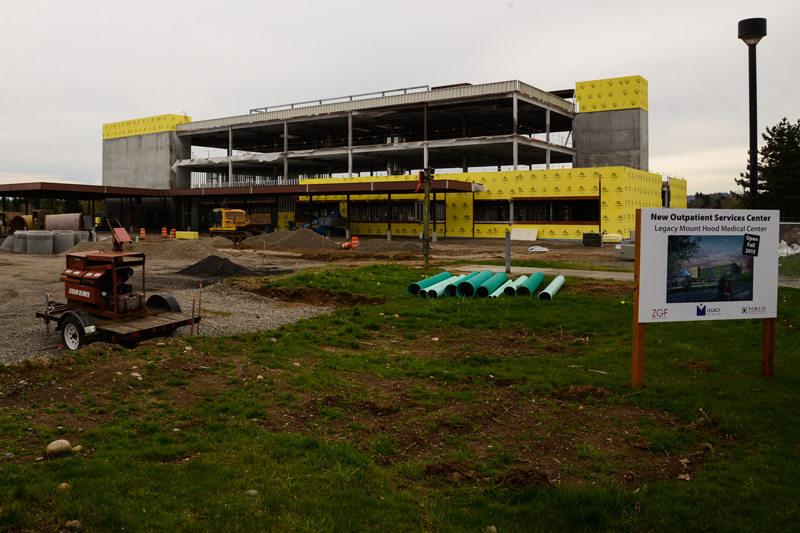 Legacy Mount Hood Medical Center construction