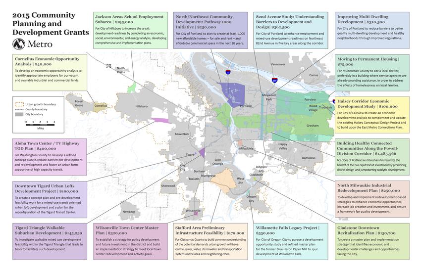 community planning development grant map