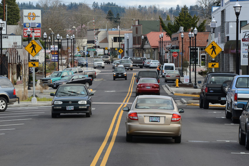 Downtown Tigard Main Street