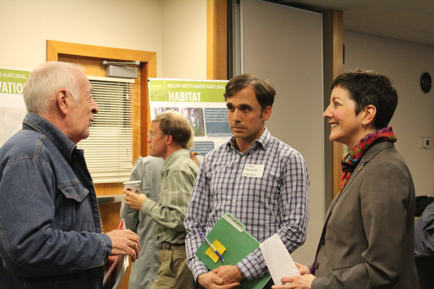 photo of Killin Wetlands community open house
