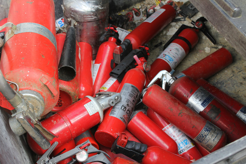 Metro's Hazardous Waste Facility collects fire extinguishers, pesticides and a wide range of trash that needs special handling.