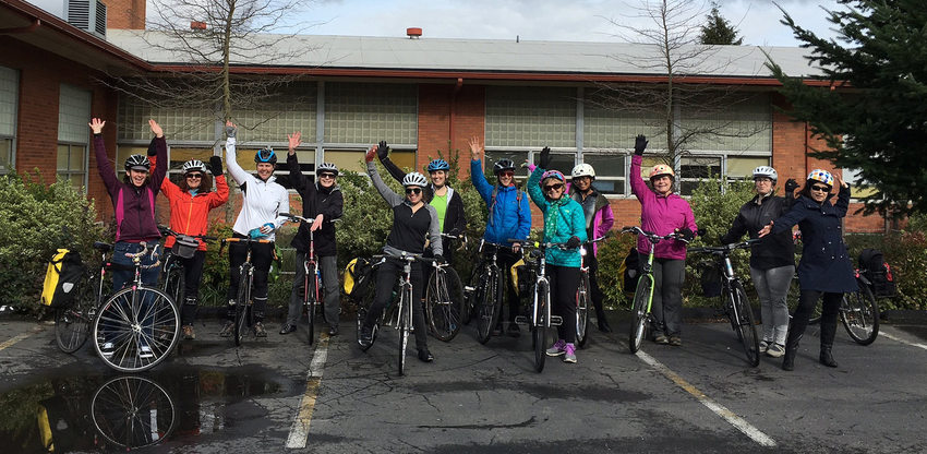 BTA Women Bike program participants