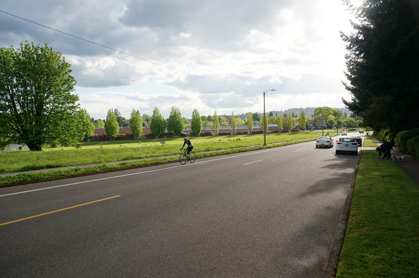 Monroe Neighborhood Greenway, Milwaukie