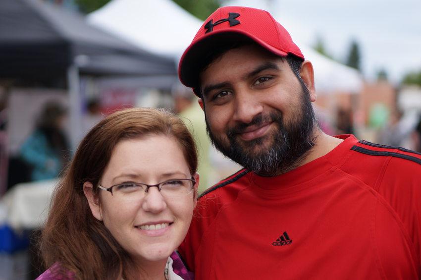 Tabitha Turin and Davinder Singh