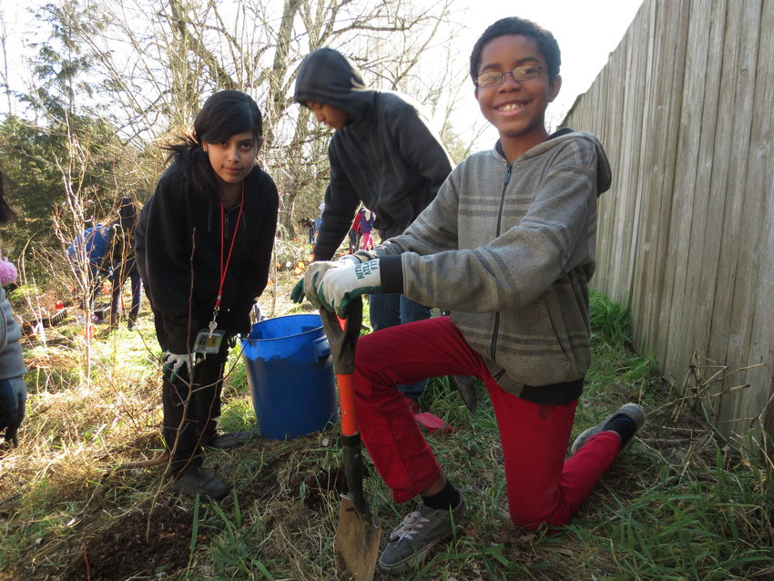 photo of Nature in Neighborhoods grant recipient