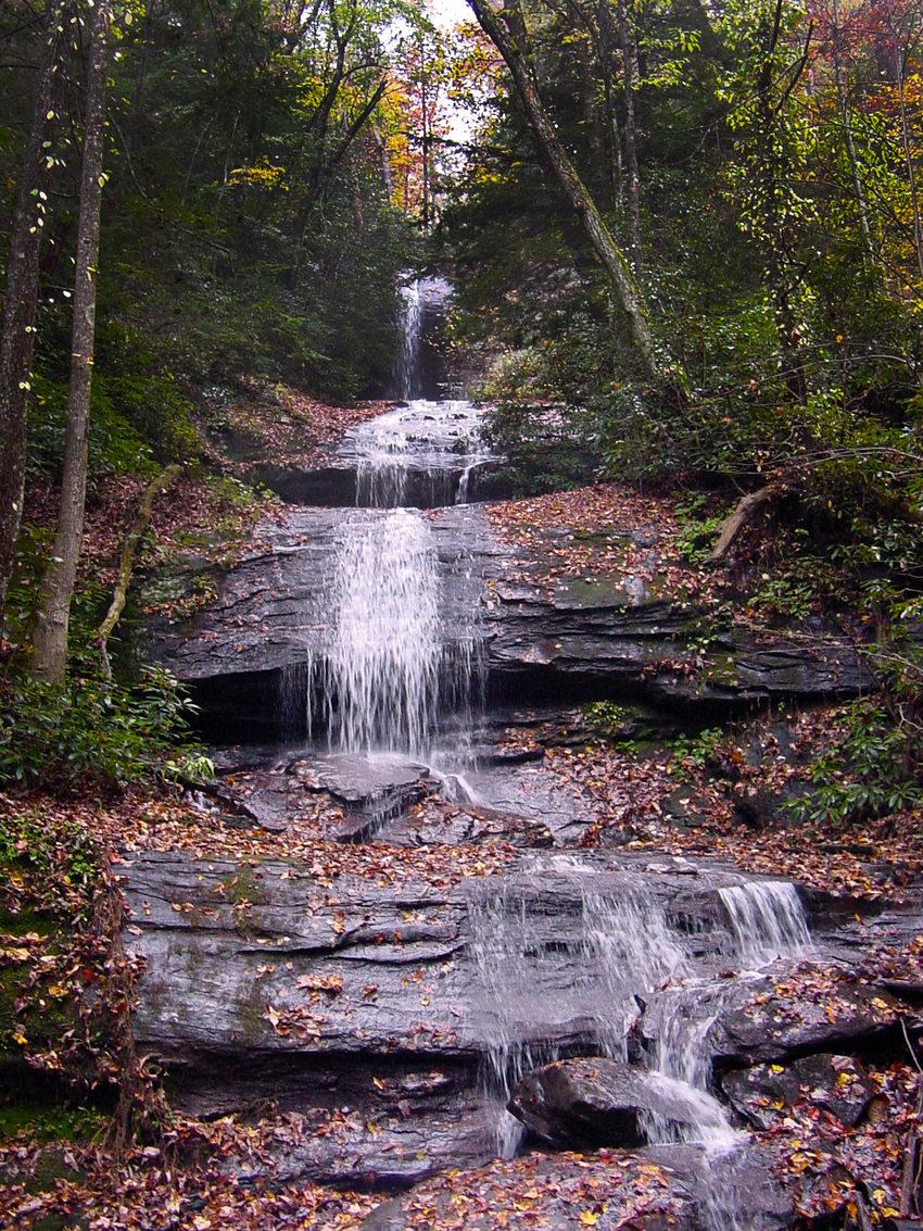 DeSoto Falls, Georgia, photo courtesy Michelle Delk.