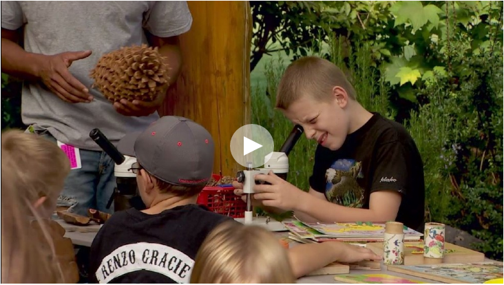 image of video: Go Green: Natural Discovery Garden