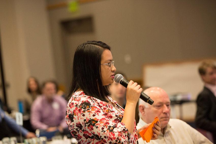 Gloria Pinzon at Regional Leadership Forum #3