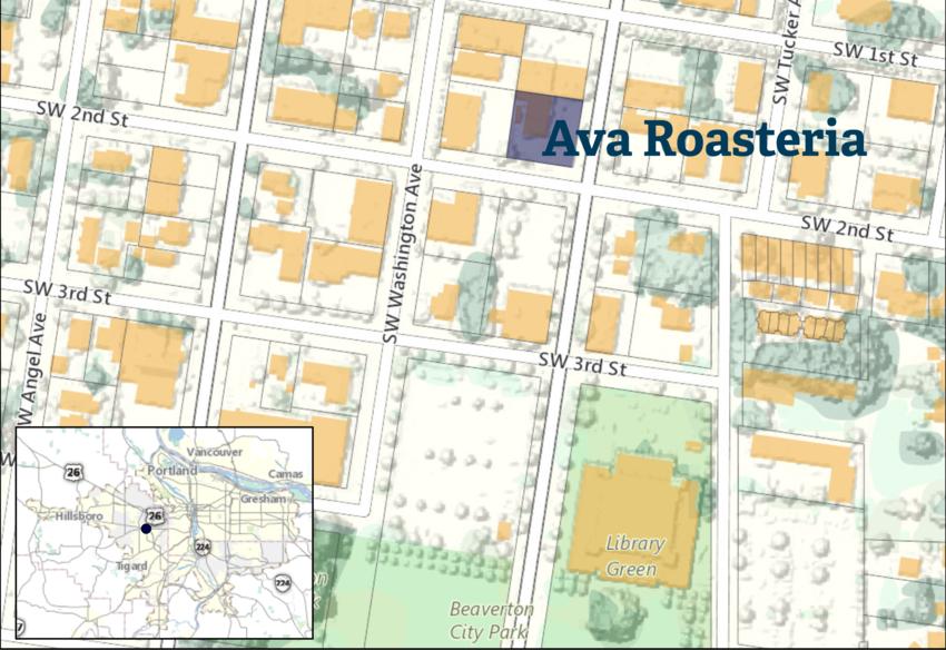 Ava Roasteria: Map