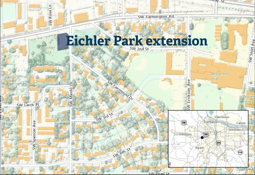Eichler Park map