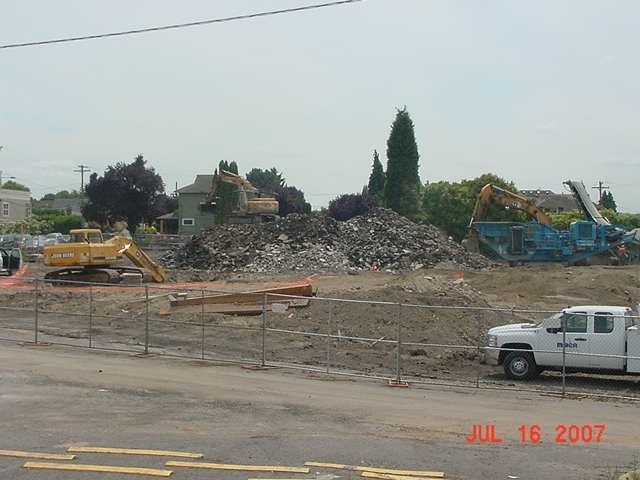 Demolition at Esperanza Court