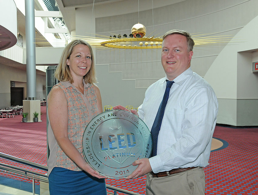 Oregon Convention Center earned LEED Platinum certification