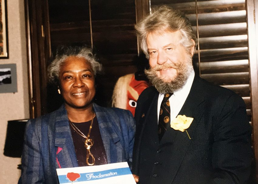 photo of Estella Ehelebe and Bud Clark