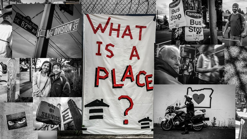 What is a Place photo montage from APANO