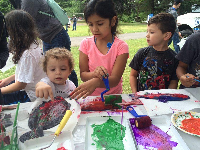 Arts & Crafts at Summer Fun Days