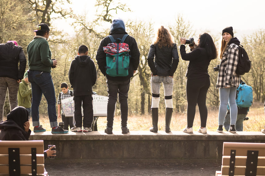 photo of ROSE Community Development group participants at Cooper Mountain Nature Park