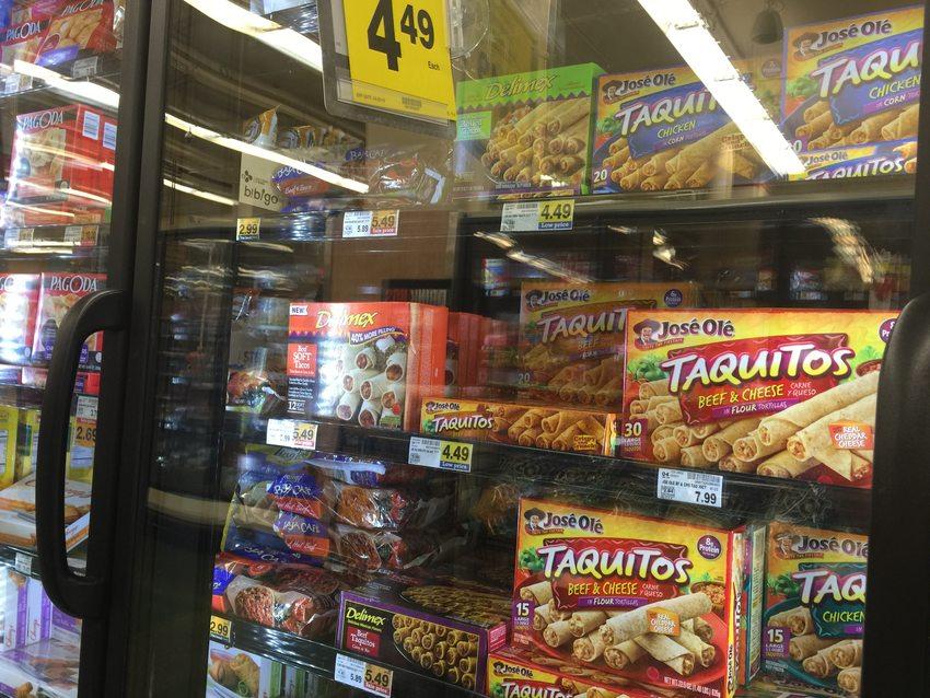 Photo of freezer food boxes