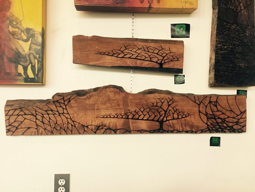 Cole Reed wood burn