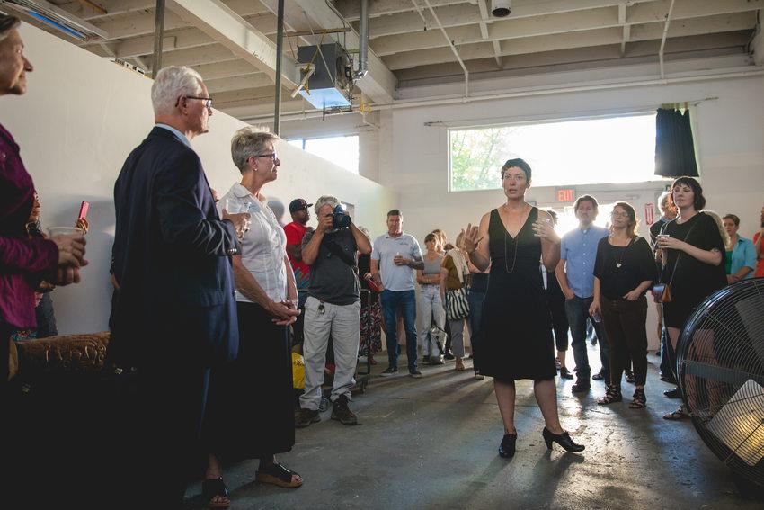 A GLEAN artist speak about her work
