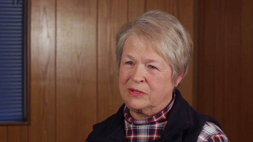 a video still of Judy Shoepe, business and property owner in Tigard