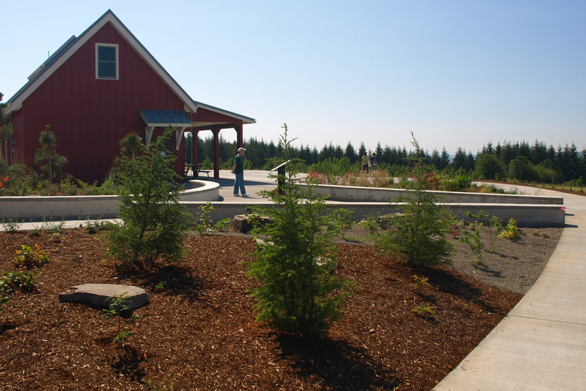 Cooper Mountain demonstration garden