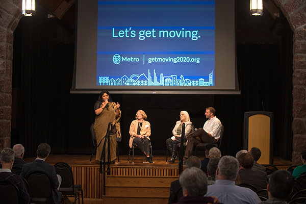 Panelists at the Washington County Get Moving 2020 transportation forum