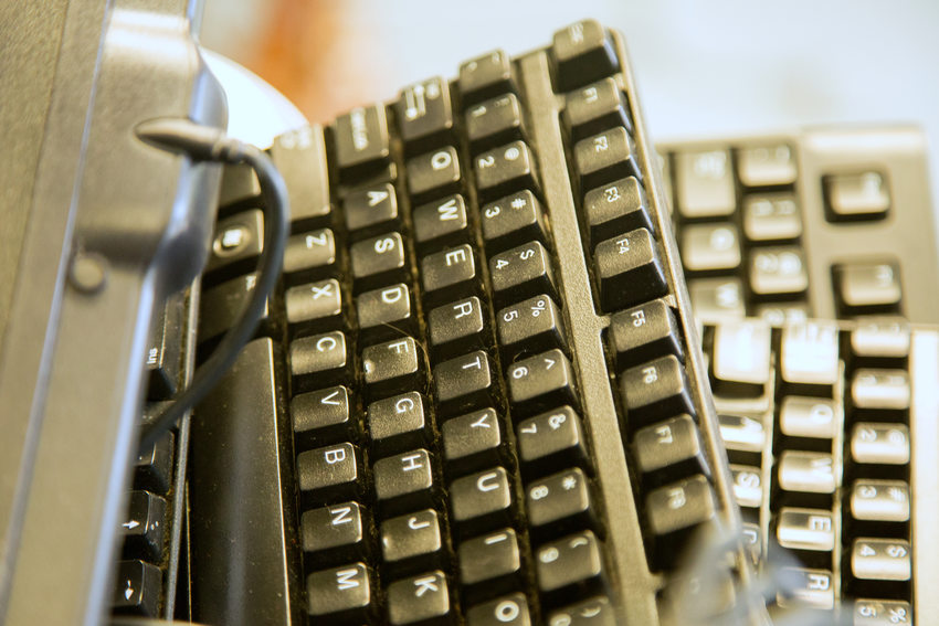 close up image of computer keyboards