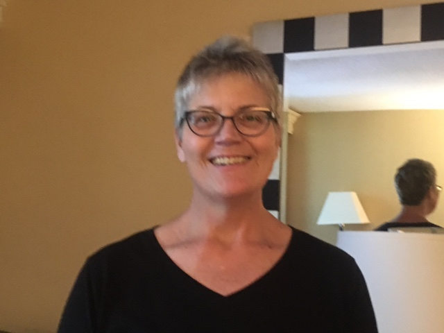 The image shows community advisory group member Anna Wilson