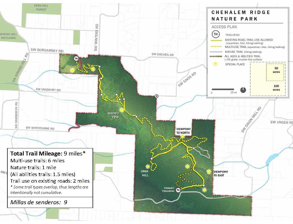 photo of Chehalem Ridge proposed trails