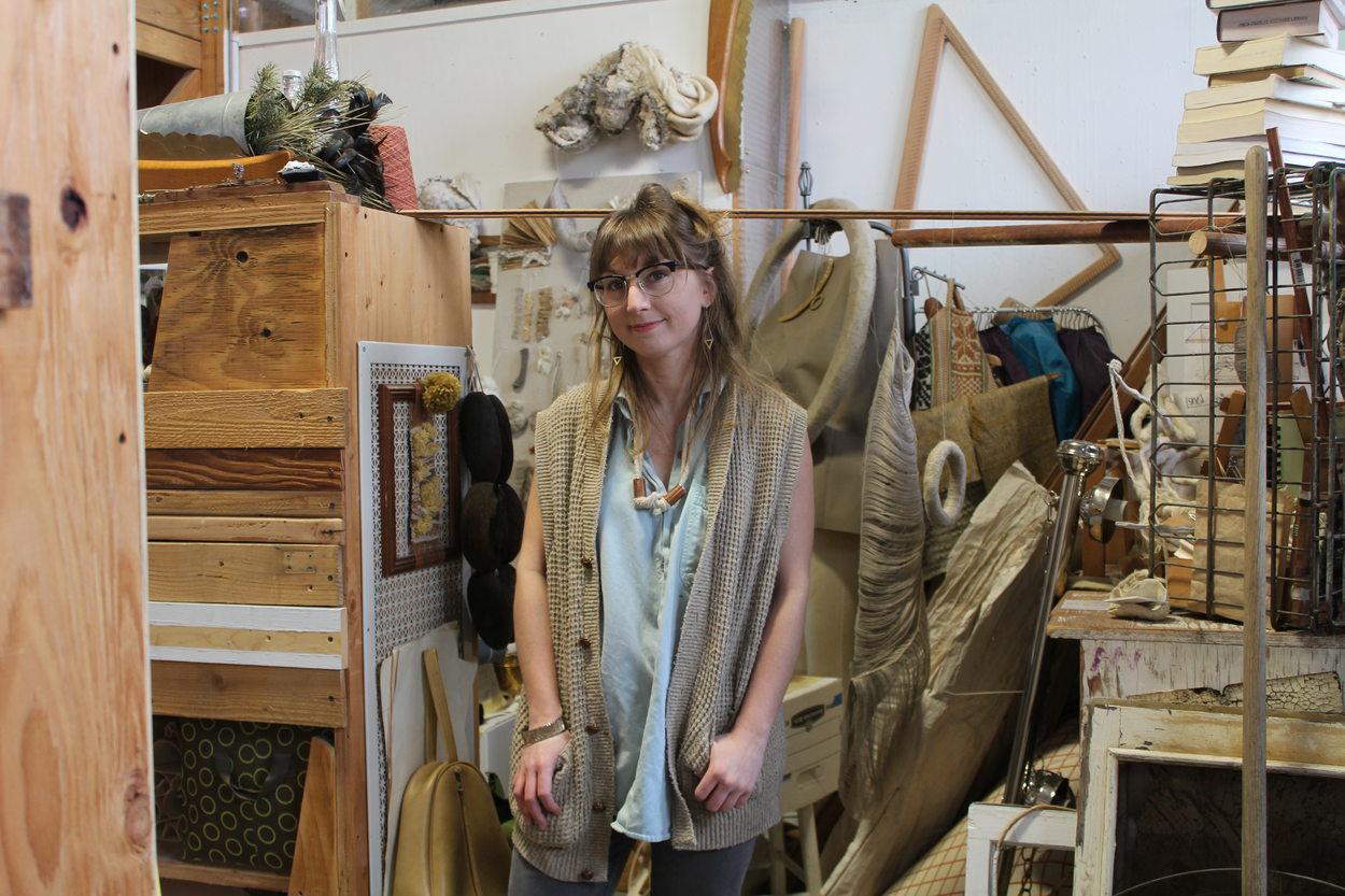 Photo of artist Caroline Borucki