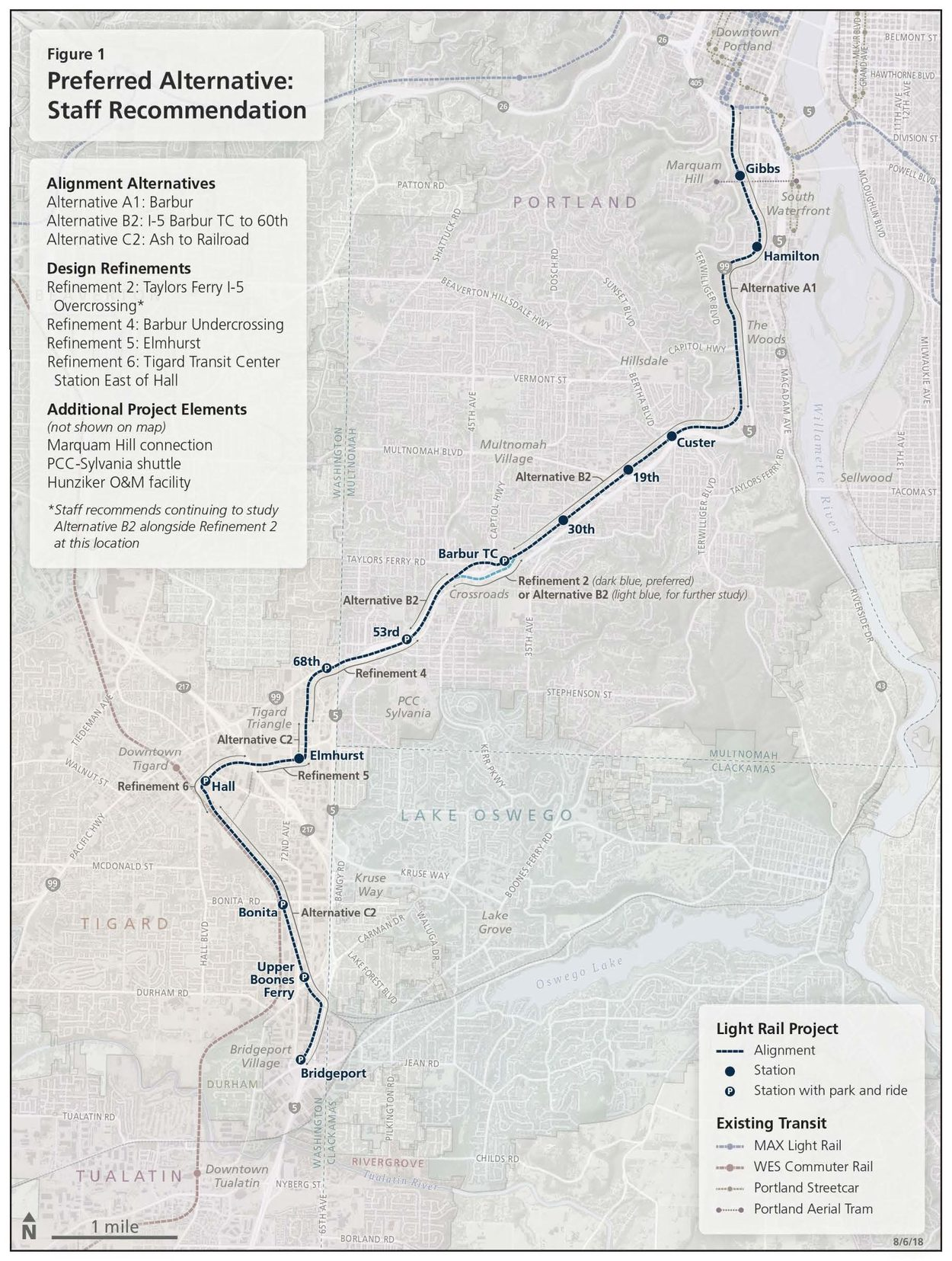 Southwest Corridor Plan Metro