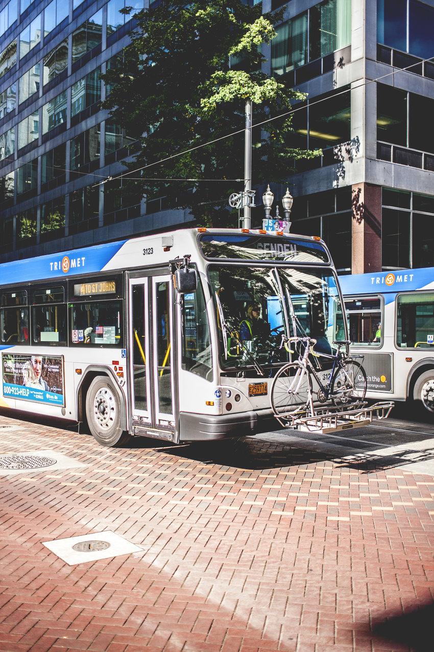 un autobús de TriMet