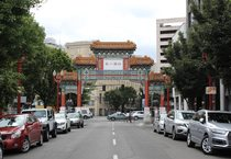 the Chinatown Gate in Portland