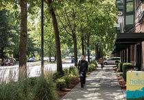 sidewalk along Cornell Road in Hillsboro